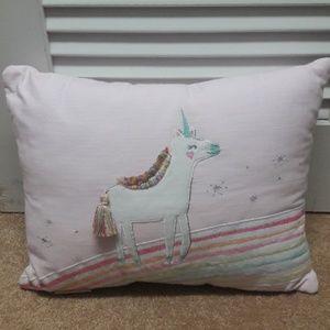 Pottery barn decorative pillow